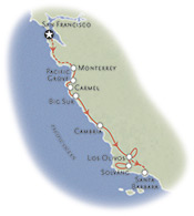 Central Coast Map